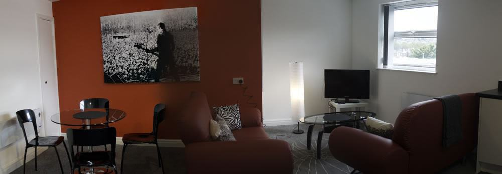 3 Clough Bank Living Room - Sheffield Student Property