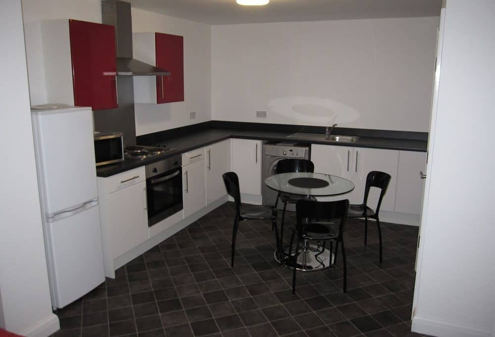 Sheffield student property - Aprt 1 1 Clough Bank Kitchen
