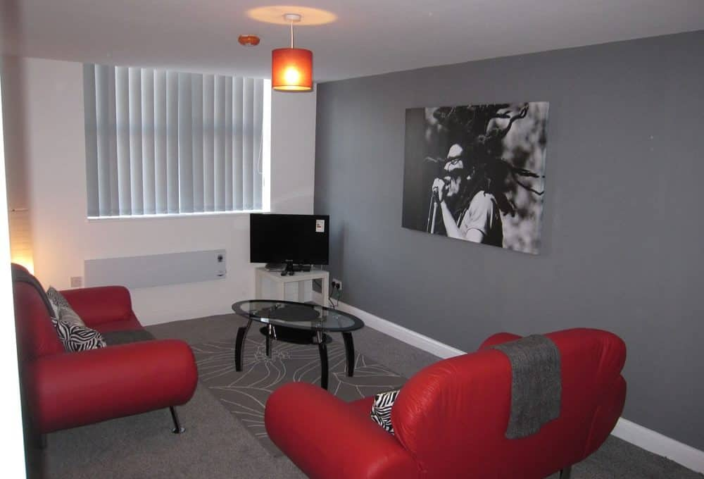 Sheffield student property - Example Living Room
