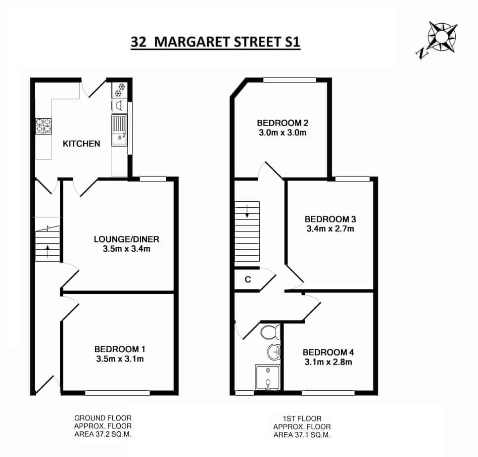 32 Margaret Street Floor Plan